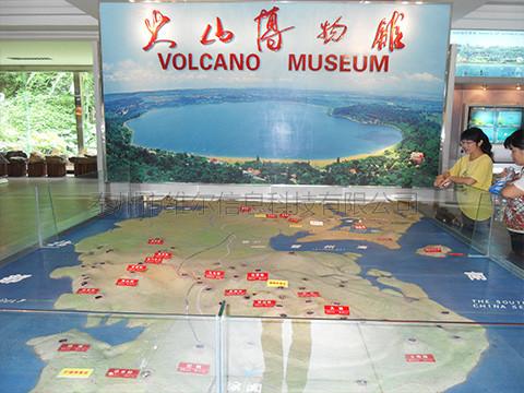 亿博备用网址火山带互动沙盘